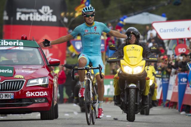 L'Espagnol Mikel Landa a remporté la 11eétape du... (Photo Jaime Reina, AFP)