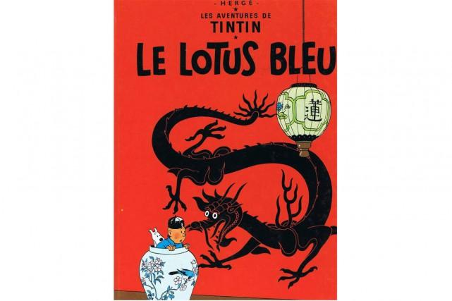 Le Lotus bleu d'Hergé...