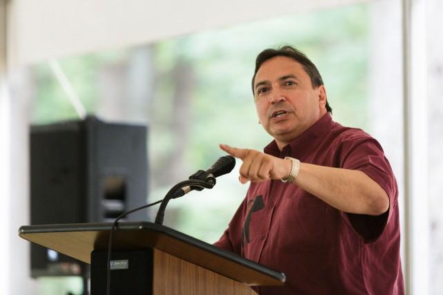 Perry Bellegardeestime que les Autochtones sont jusqu'à sept... (PHOTO ARCHIVES ULYSSE LEMERISE, COLLABORATION SPÉCIALE)