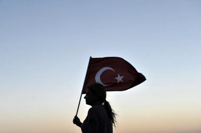 Les violences conjugales sont récurrentes en Turquie où,... (Photo OZAN KOSE, archives AFP)