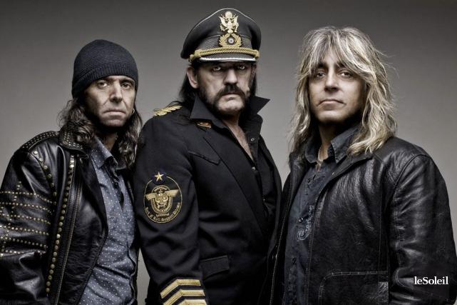 Motörhead... (Photothèque Le Soleil)