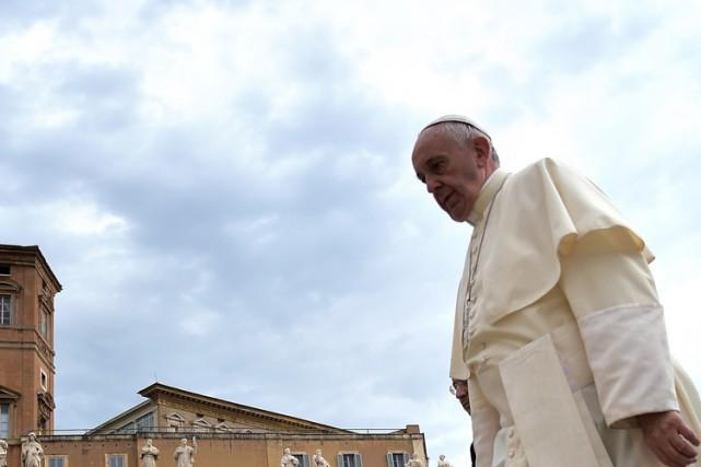 Le pape François, très apprécié des Américains, devrait... (PHOTO AFP)