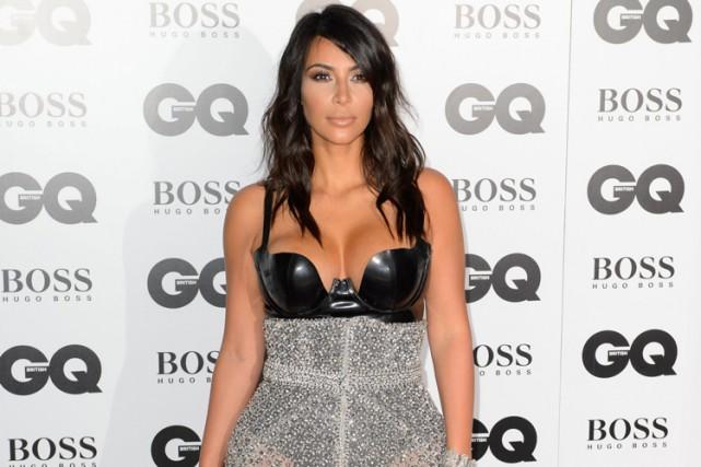 La star de téléréalité Kim Kardashian, qui est plus que jamais la reine des... (PHOTO AP)