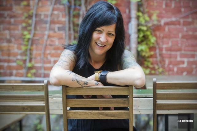 Véronique Marcotte, responsable de la direction artistique et... (Photo: Andréanne Lemire, Le Nouvelliste)