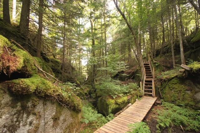 Inauguré l'an dernier, le Parc naturel régional de... (Photo fournie par le Parc naturel régional de Portneuf)
