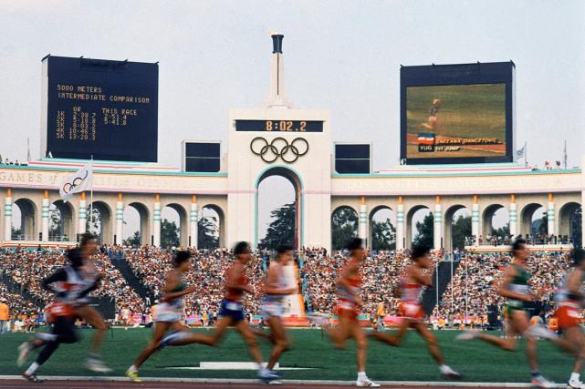 Los Angeles a déjà accueilli les Jeux olympiques... (Photo archives AP)