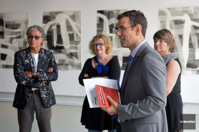 Le consul général honoraire d'Autriche Marc Bissell, au... (Photo: François Gervais, Le Nouvelliste)