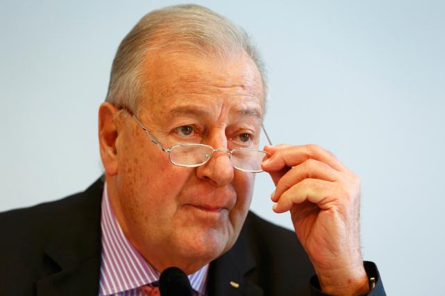 Le président de la commission des réformes de... (Photo Ruben Sprich, Reuters)