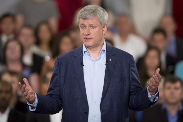 Le premier ministre Stephen Harper... (PHOTO Adrian Wyld, LA PRESSE CANADIENNE)