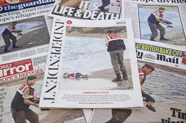 Les images du corps sans vie de ce... (PHOTO JUSTIN TALLIS, AFP)