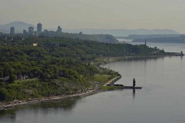 Le prolongement de la promenade Champlain est en... (Photothèque Le Soleil, Patrice Laroche)