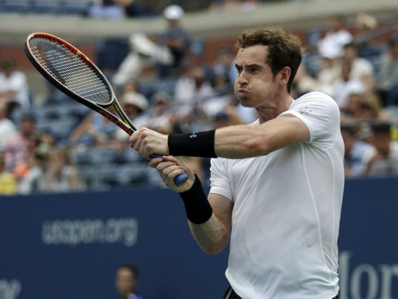 Murray, champion du tournoi en 2012, a eu... (Photo AP)
