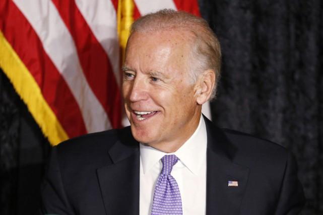 Le vice-président des États-Unis Joe Biden.... (PHOTO JOEL AUERBACH, AP)