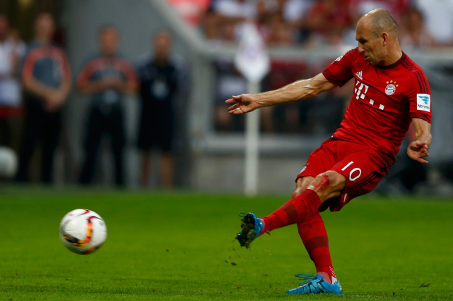 Arjen Robben... (Photo Michael Dalder, Reuters)