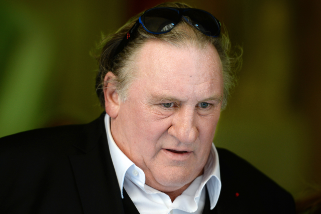 Gérard Depardieu... (Photo Boris Horvat, AFP)