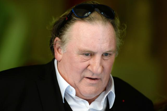 Gérard Depardieu, visé à Paris par une enquête pour des «viols et agressions... (Photo Boris Horvat, archives AFP)