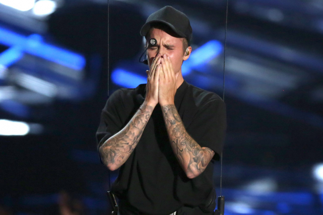Justin Bieber... (Photo Matt Sayles, AP)