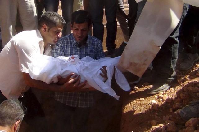 Jour d'enterrement du petit Aylan Kurdi, ce migrant... (Agence France-Presse)