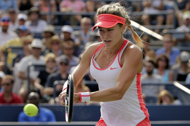 Eugenie Bouchard... (PHOTO Charles Krupa, AP)