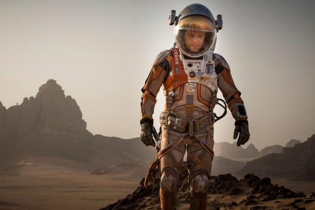 Seul sur Mars a été réaliséavec la nouvelle...