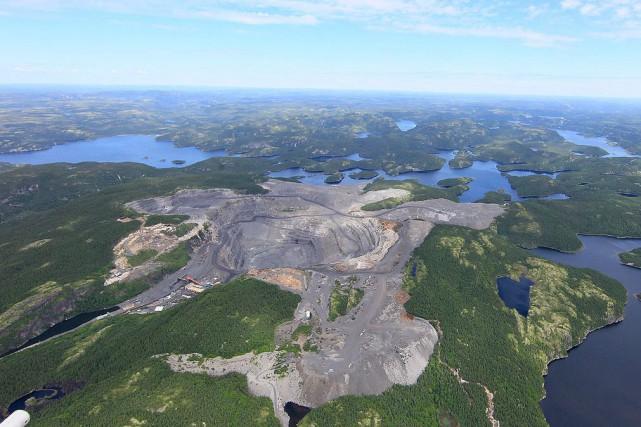 Rio Tinto suspend les activités de sa mine... (Photo fournie par Rio Tinto Fer et Titane)