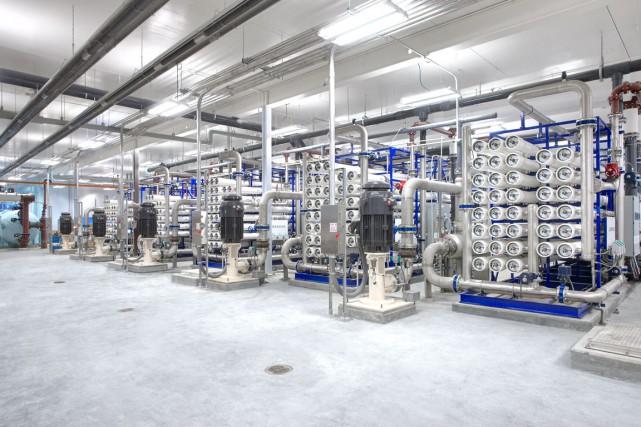 Le système de traitement d'eau conçu par H2O... (Photo fournie par H2O Innovation)