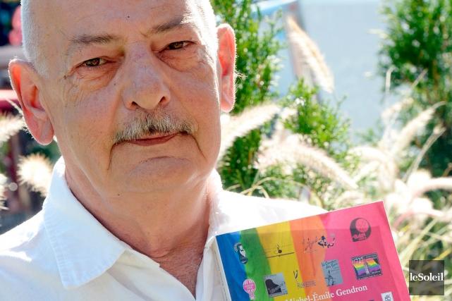Michel-Émile Gendron, auteur du livre La vie gaie... (PHOTO LE SOLEIL, ERICK LABBÉ)