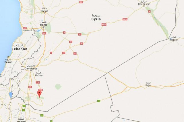 Vingt-six personnes ont péri vendredi dans un double attentat à la voiture... (Capture d'écran Google Maps)