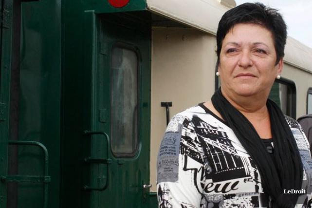 Louise Boudrias, 55 ans, n'était pas destinée à... (Étienne Ranger, Archives LeDroit)