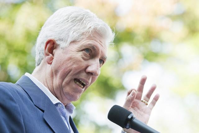 Le chef du Bloc québécois,Gilles Duceppe.... (Photo Graham Hughes, PC)