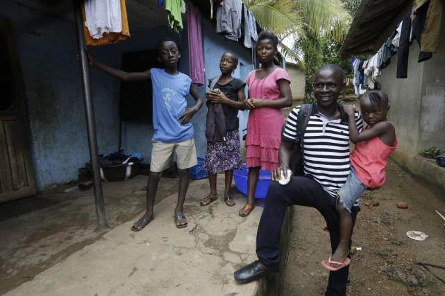 L'épidémie d'Ebola en Afrique de l'Ouest - la... (Photo Sunday Alamba, archives AP)