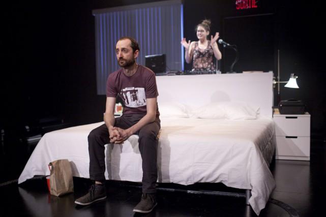 Normal, de Jean-Philippe Lehoux, mise en scène de... (Photo fournie par La Licorne)