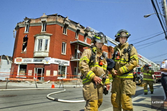 L'incendie de vendredi soir était d'origine criminelle, ont... (Martin Roy, LeDroit)