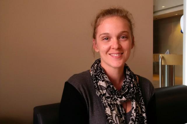 Sandrine Thériault, présidente du Syndicat du personnel technique...