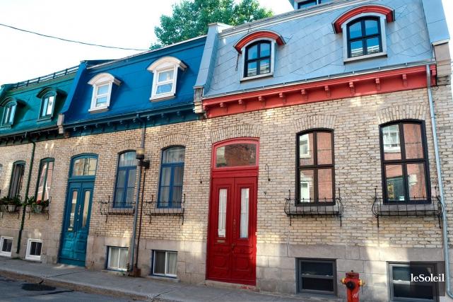 La demeure, construite en 1880 dans la rue... (Le Soleil, Erick Labbé)
