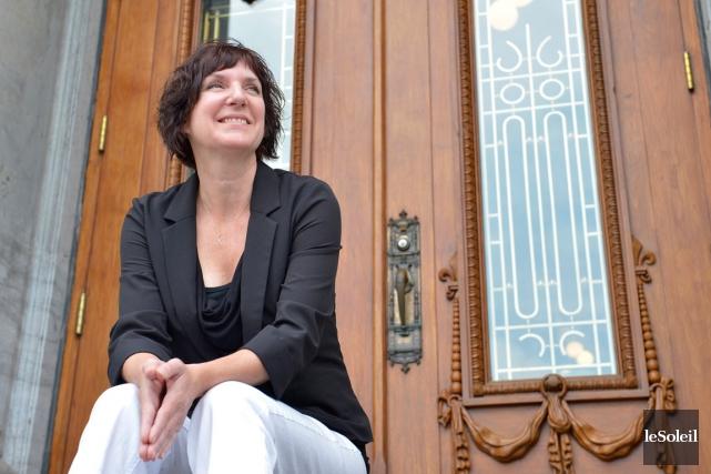 L'artisane Hélène Drolet est spécialisée en restauration et... (Le Soleil, Yan Doublet)