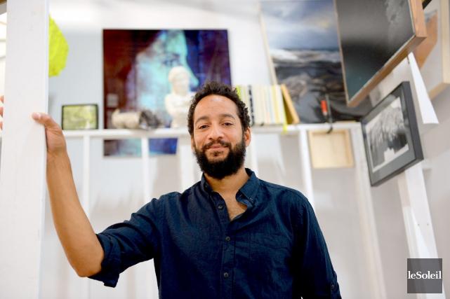 Les oeuvres de Samuel Roy-Bois sont placées en... (Le Soleil, Erick Labbé)