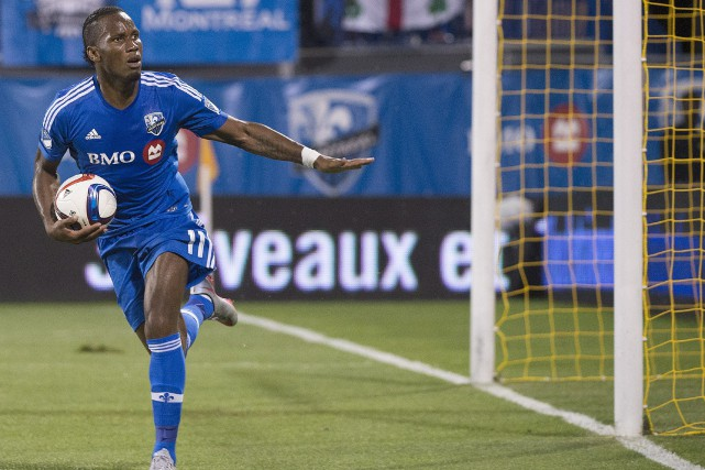 Didier Drogba... (Photo Graham Hughes, La Presse Canadienne)