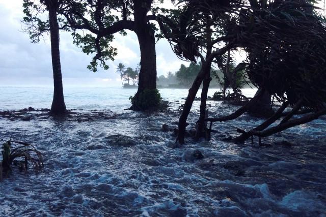 Les changements climatiques font partie des grande préoccupations... (PHOTO ARCHIVES AFP)