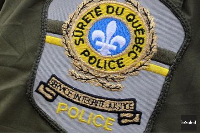 La Sûreté du Québec a réussi à trouver le camion vert qui pourrait avoir été... (Photothèque Le Soleil)