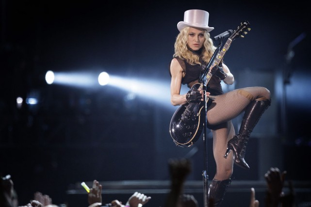 Madonna sera de passage au Centre Bell les... (Photo Joel Ryan, archives AP)