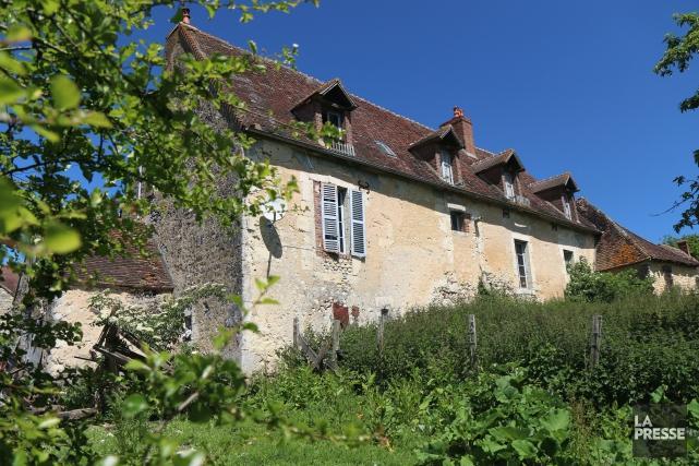 La maison Guimond (ou Guimont), en piteux état,... (Photo Sylvain Sarrazin, La Presse)