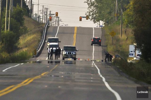 Le Service de police d'Ottawa a enquêté sur... (Martin Roy, LeDroit)