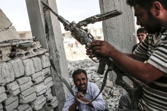 Le PKK a affirmé avoir tué 15 soldats... (PHOTO AP)