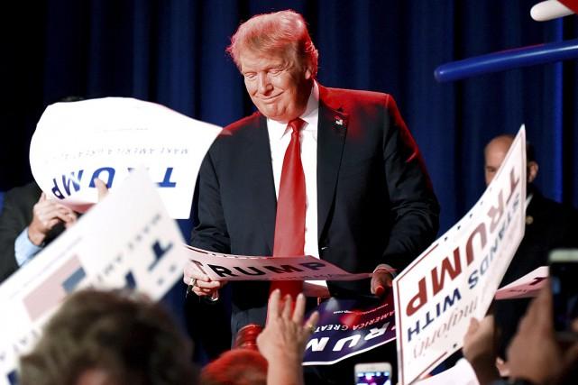 Selon les électeurs interviewés par l'Associated Press, l'attrait... (Photo Harrison McClary, Reuters)
