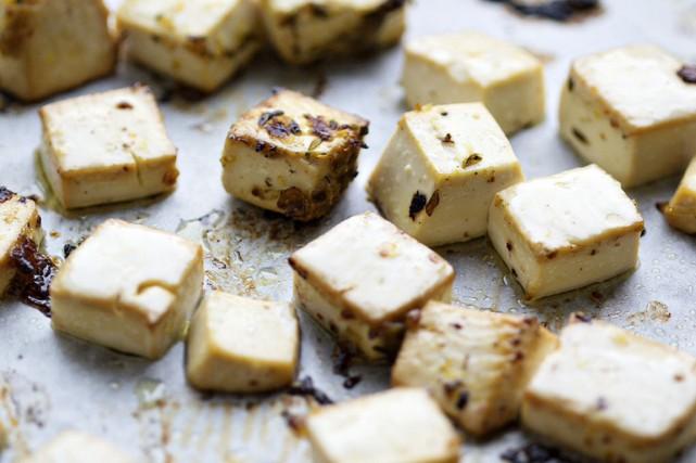 Le tofu offre une panoplie de possibilités pour... (Photo Thinkstock)