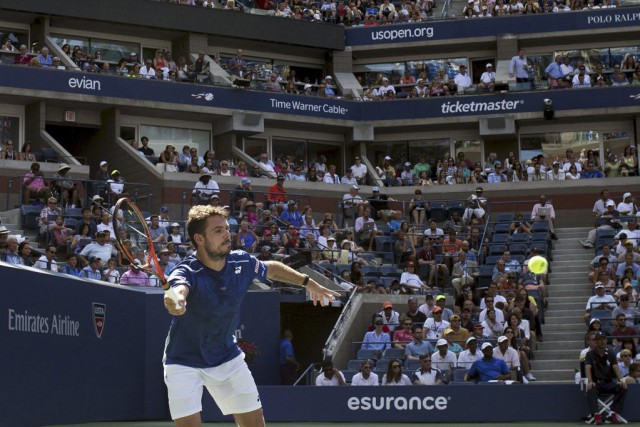 Stan Wawrinka... (PHOTO ADREES LATIF, REUTERS)