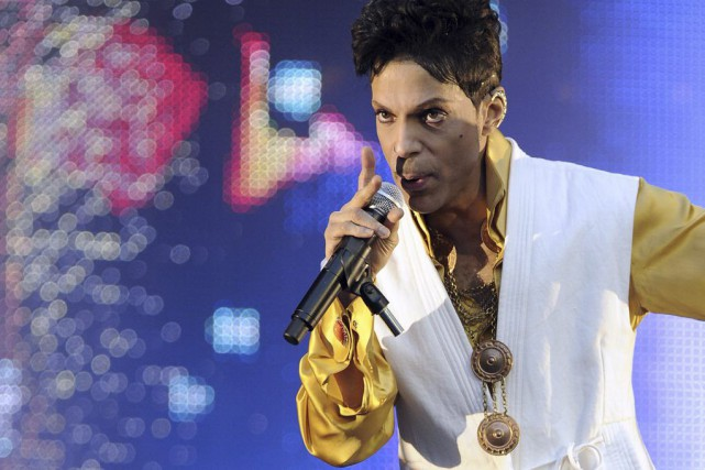 Prince... (Photo BERTRAND GUAY, archives AFP)