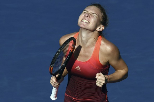 Simona Halep... (PHOTO JEWEL SAMAD, AFP)
