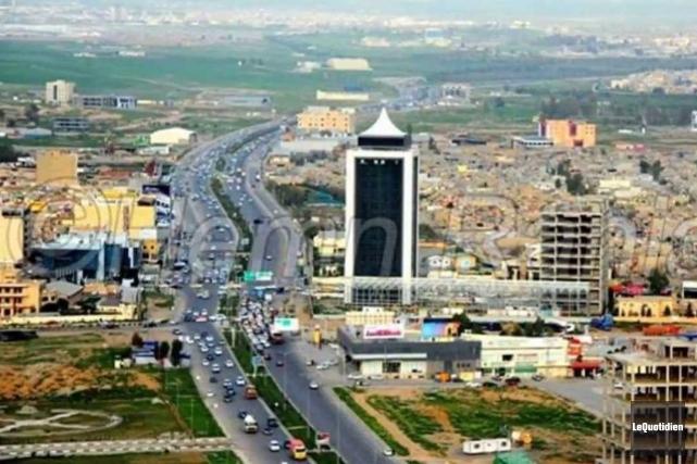 Erbil, capitale de la région autonome du Kurdistan... ((Archives Le Quotidien))